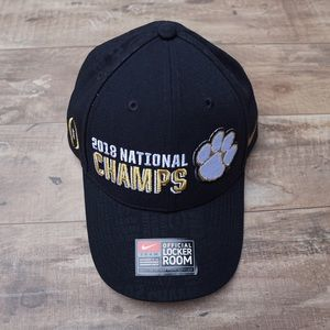*New* Nike Clemson Tigers 2018 National Champs Hat